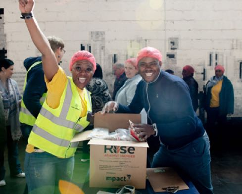 Meals for Mandela Day